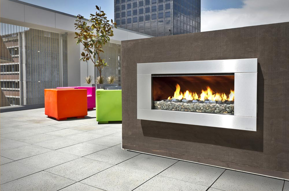 EF Series - Outdoor Gas Fireplace