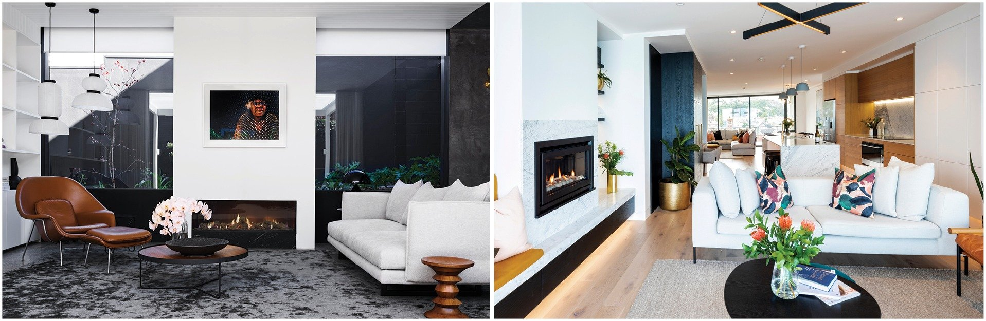 5 ways to position your fireplace and furniture together escea gas fireplaces3