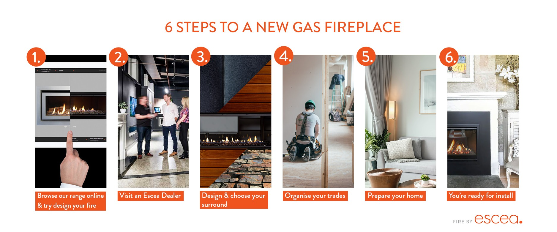 6 steps to a new gas fireplace with escea_1