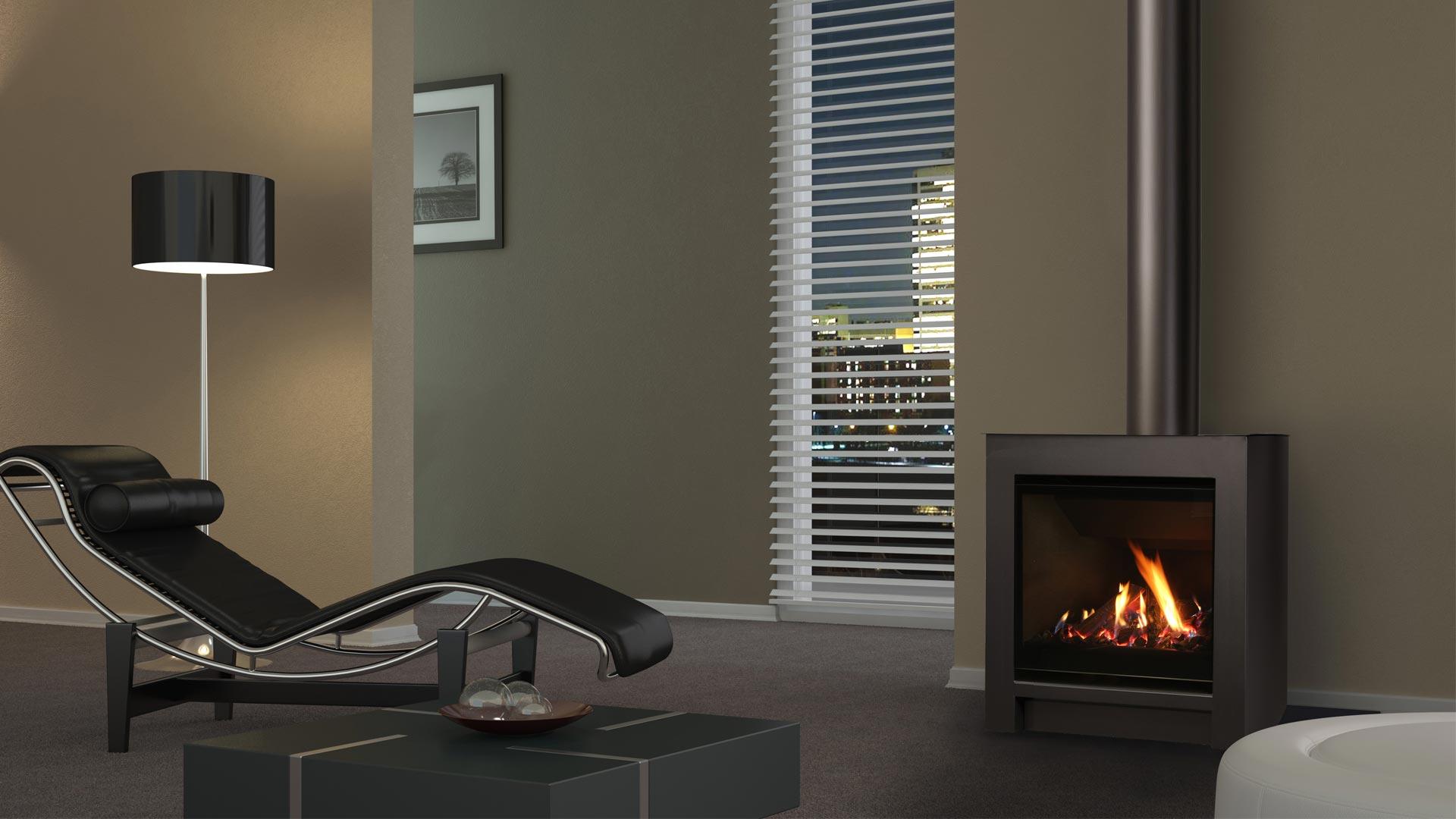 Escea Dfs730 Freestanding Gas Fireplace Escea Gas Fires