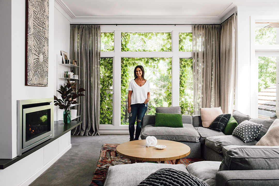 Rebecca Shnider's Fireplace Design