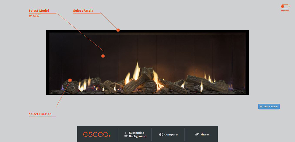 Design Your Fire puts the Power in your Hands