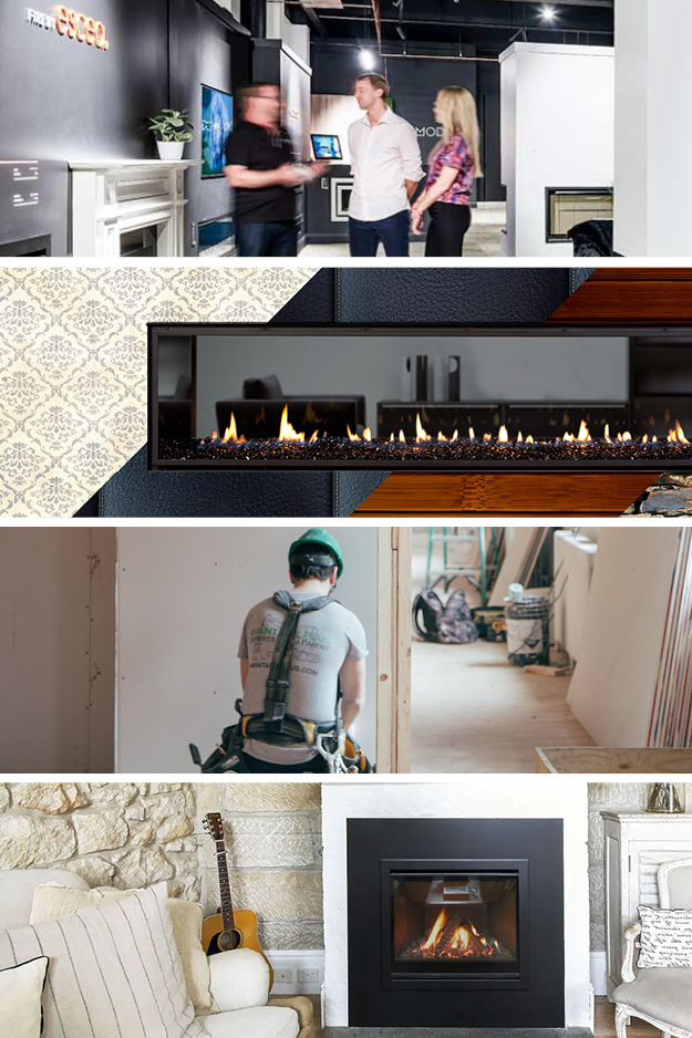 6 Steps to a New Gas Fireplace