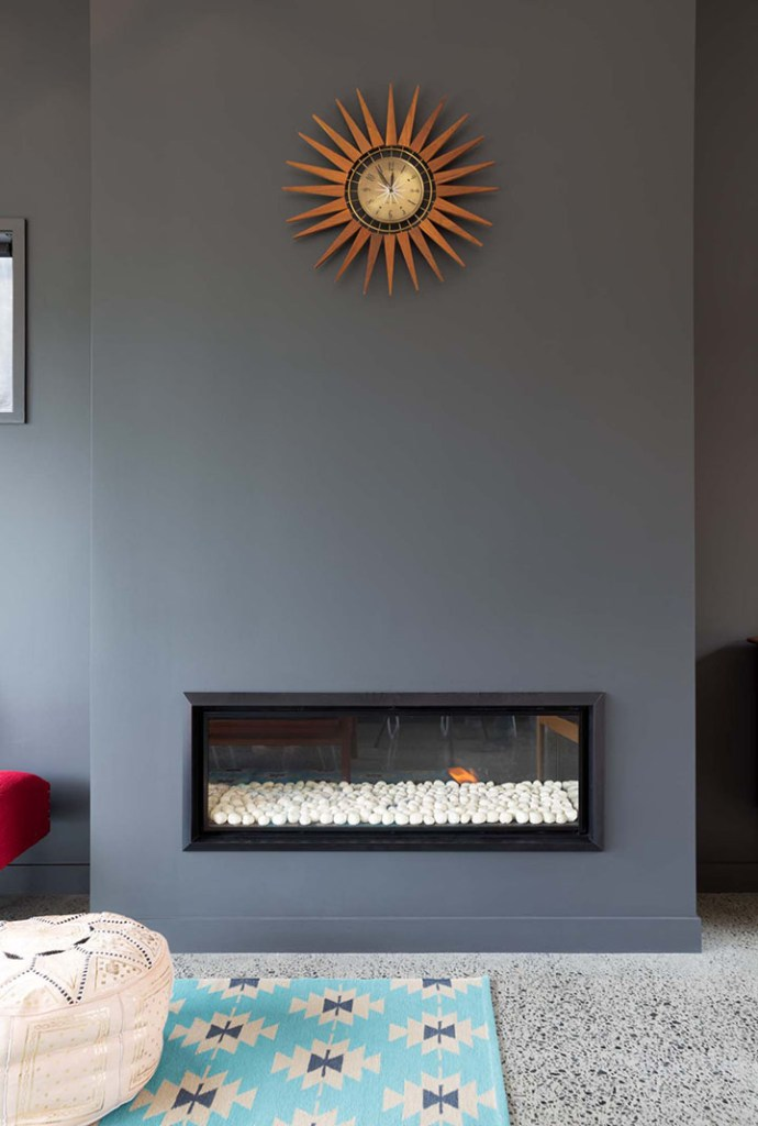 A Modern Retro House Build with Escea Gas Fireplace