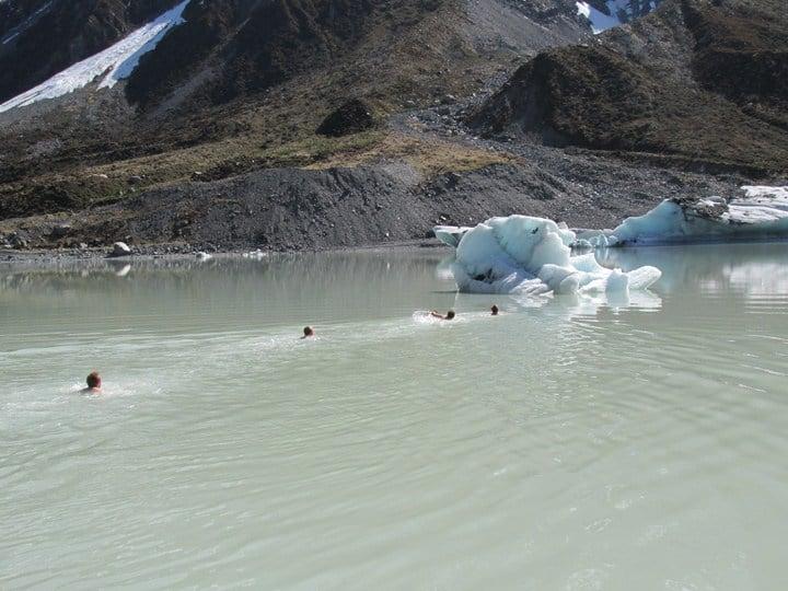 Danish Interns Iceberg climb