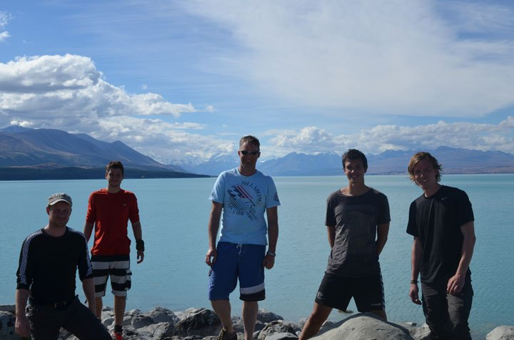 Escea Interns at Hooker Lake