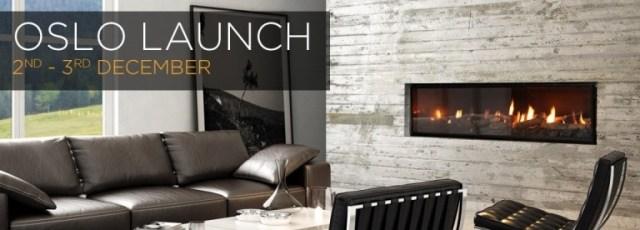 Escea Oslo Launch Fireplace