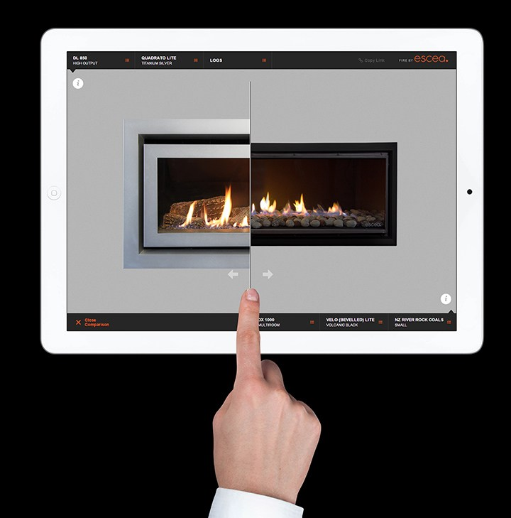 Fireplace Designer in Your Pocke