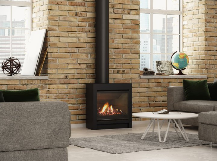 Fireplace Freestanding Melbourne: Home Character With A Modern Gas Fire