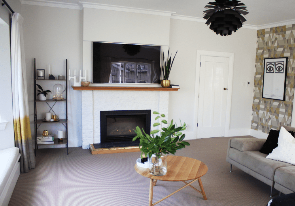 Living Room Makeover with an AF960