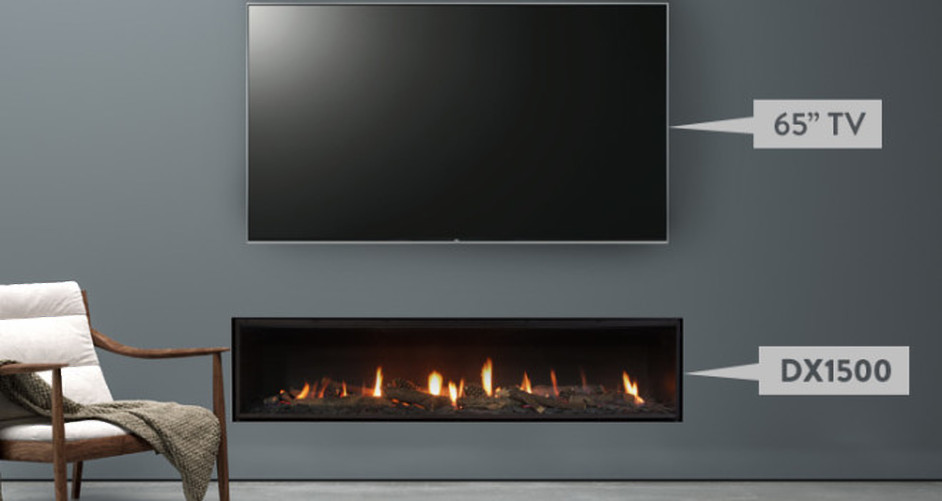 Matching your TV Size to your Fireplace