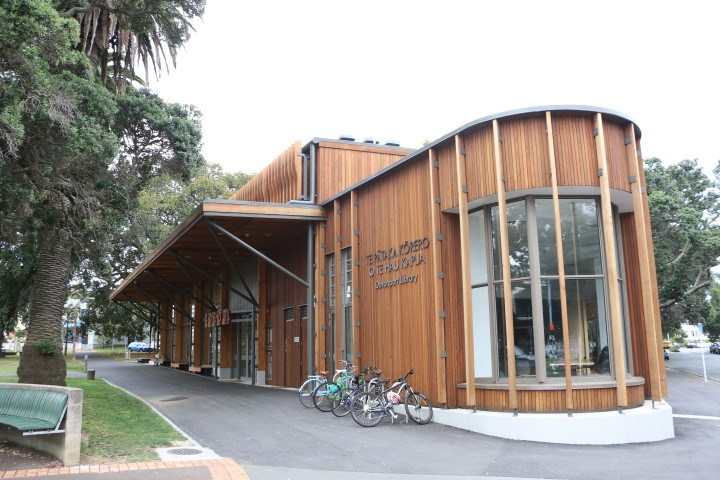 New Devonport Library Exterior