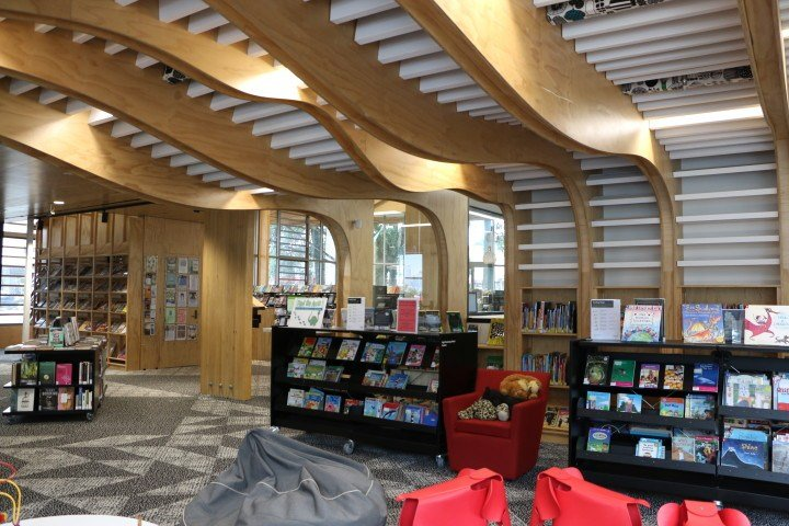 New Devonport Library Interior