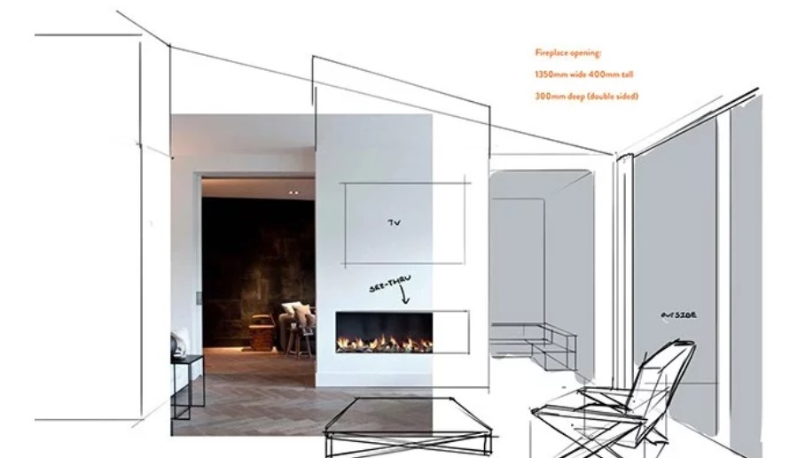 Get ready for winter! Our guide to planning your new fireplace from your couch