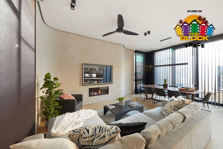 Three's The Block Australia: Daniel & Jade's Art Deco Delight