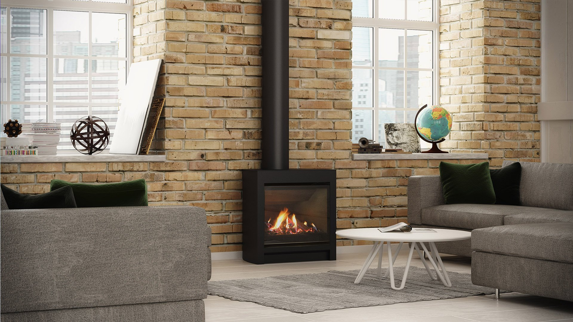 Introducing Escea's DFS730 Freestanding Gas Fireplace