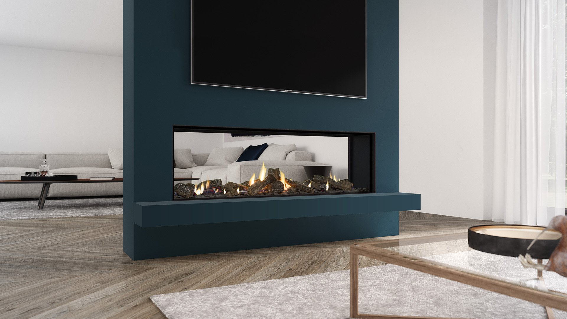New product release: the DS1400 gas fireplace