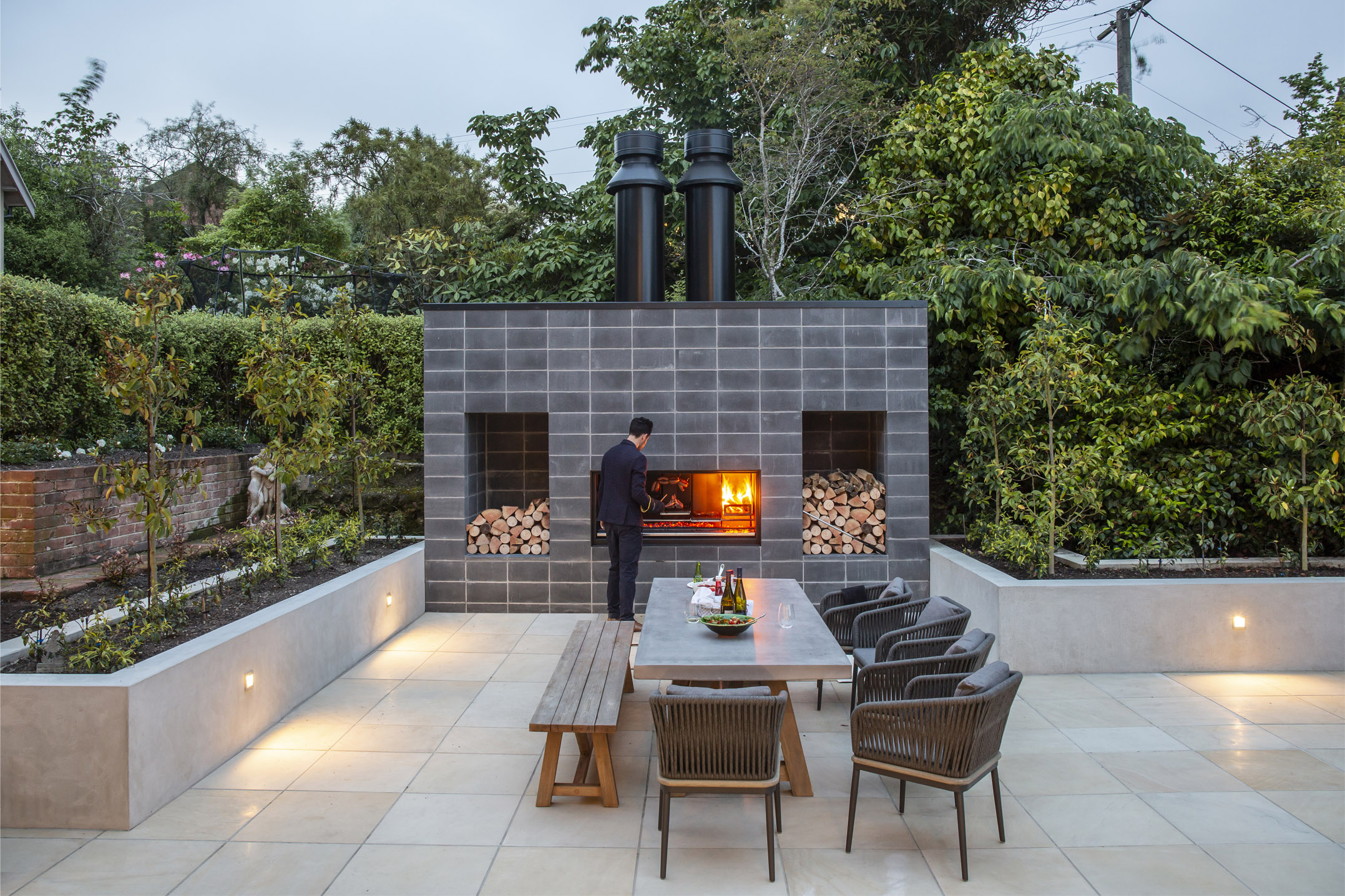 Introducing the EK Series: Outdoor Fireplace Kitchen