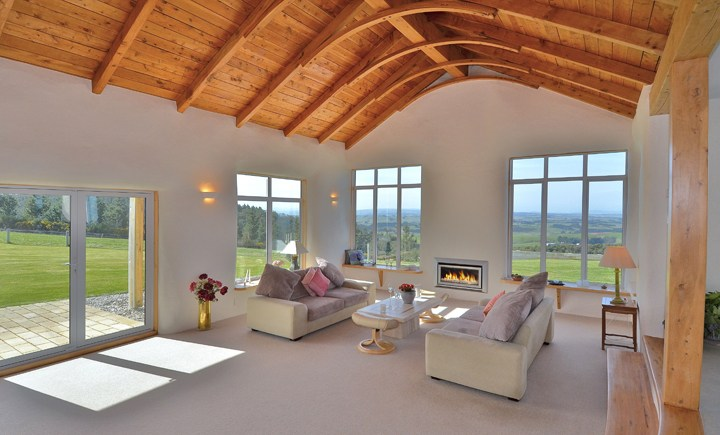 escea dl850 fireplace wood ceiling