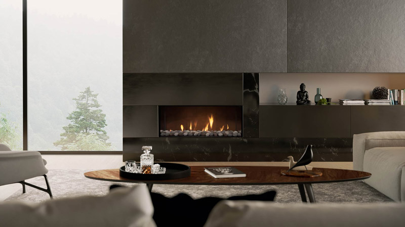 The new DS1150 Gas Fireplace is here