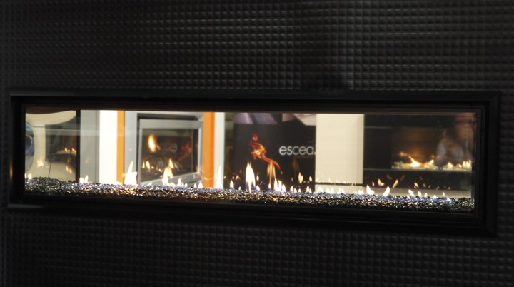 Escea DX1500 Fireplace at Designex 2013