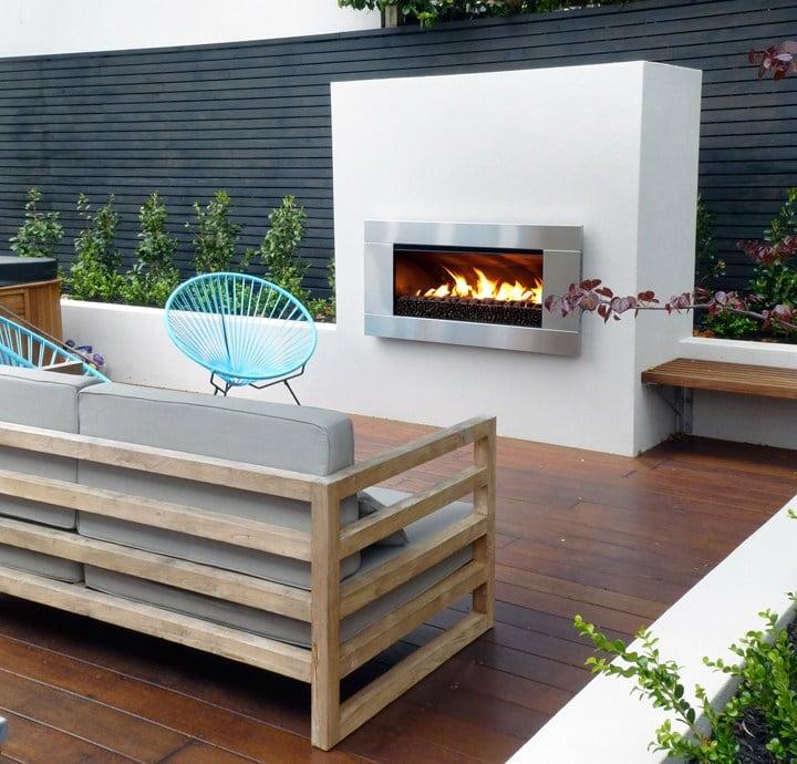 escea ef5000 outdoor gas fireplace