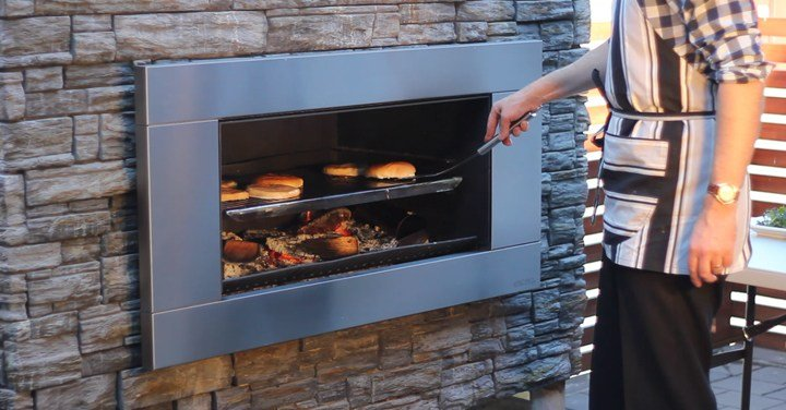 Truly Authentic BBQ with the Escea outdoor cooking fire