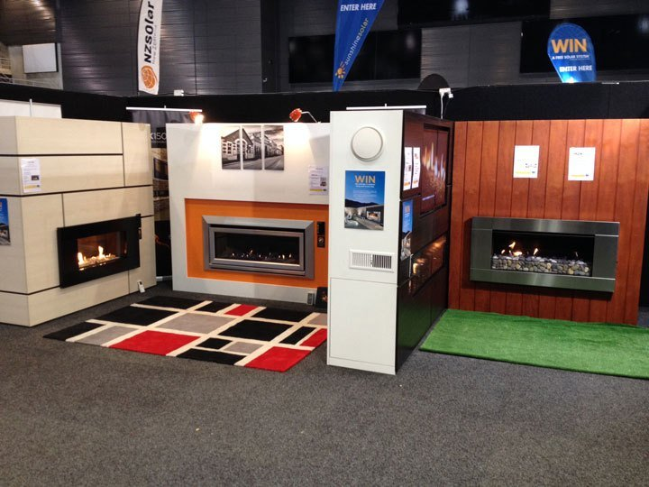 Escea Gas Heaters at Perth Home Show 2015