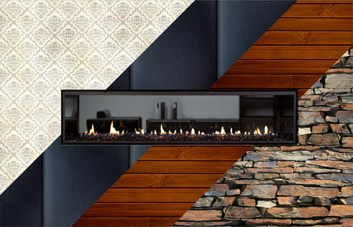 What Wall Materials Can I Use Around My Fireplace?