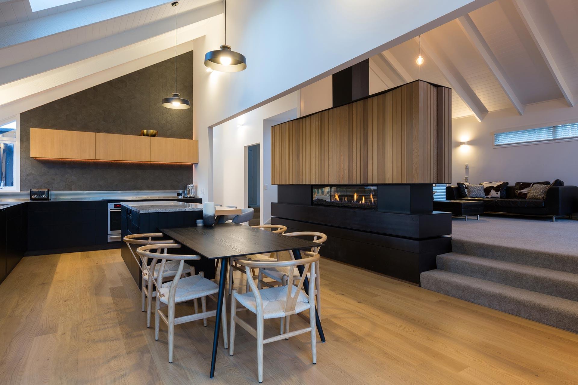 Chris O'Malley: Kitchen & fireplace