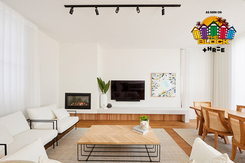 Three's The Block Australia: Luke & Jasmin's Bright and Airy Edwardian Home