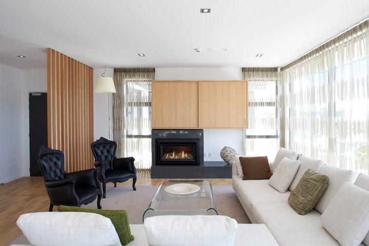 Penthouse Apartment Auckland with Escea DL850