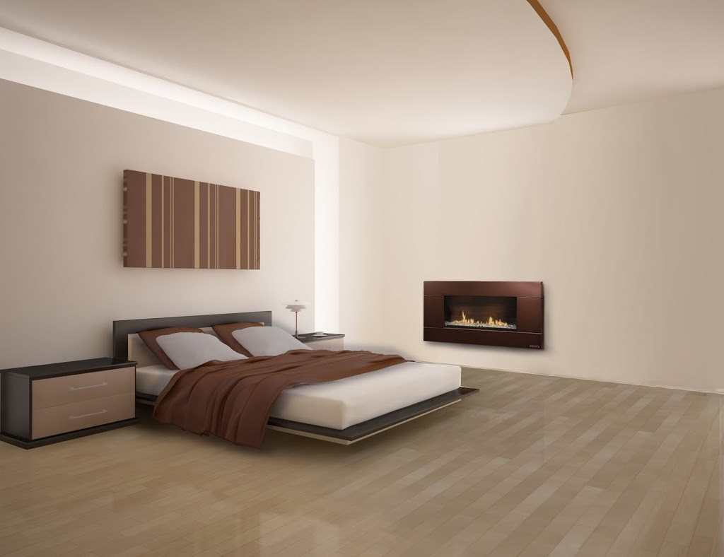 Create a Romantic Bedroom | Gas Fire brings romance without fuss