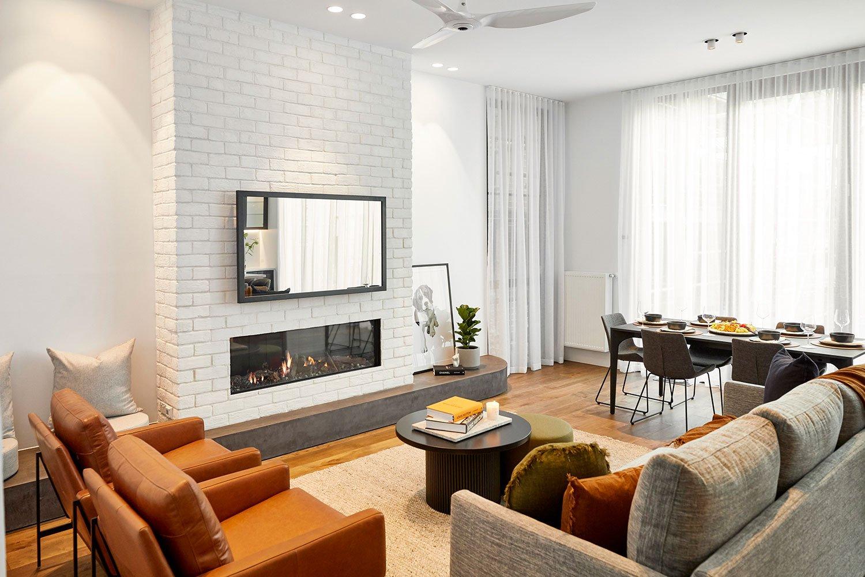 The Block Australia 2020: Sarah & George's 1940s Inspired Living Space