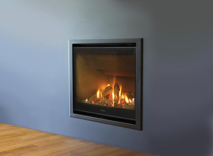 What is an insert fireplace?